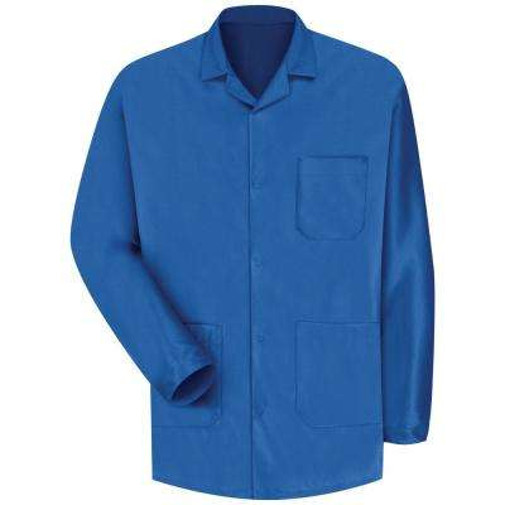 Men's Medium Electronic Blue ESD/Anti-Stat Counter Jacket
