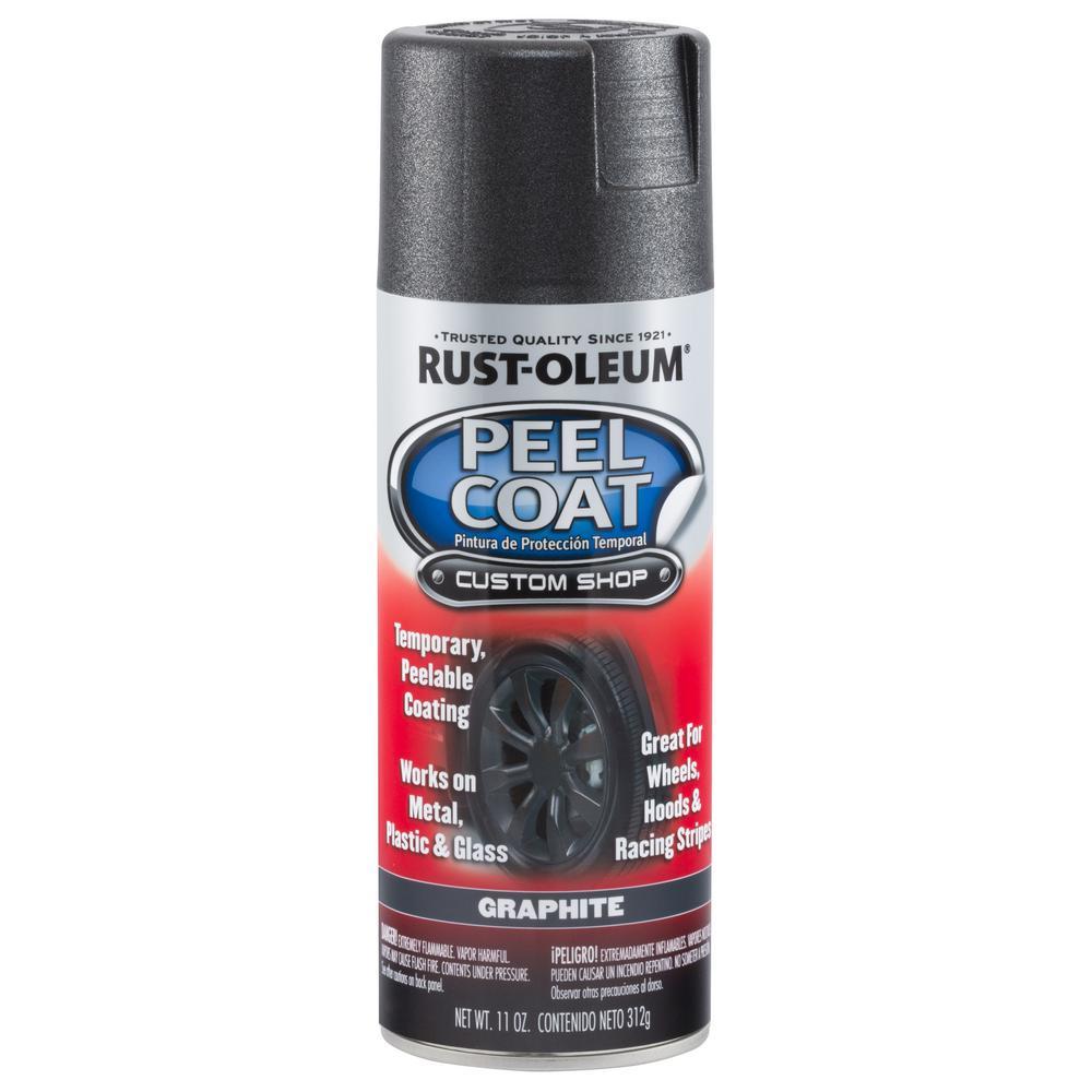 Rust-Oleum Automotive 11 Oz. Peel Coat Matte Graphite