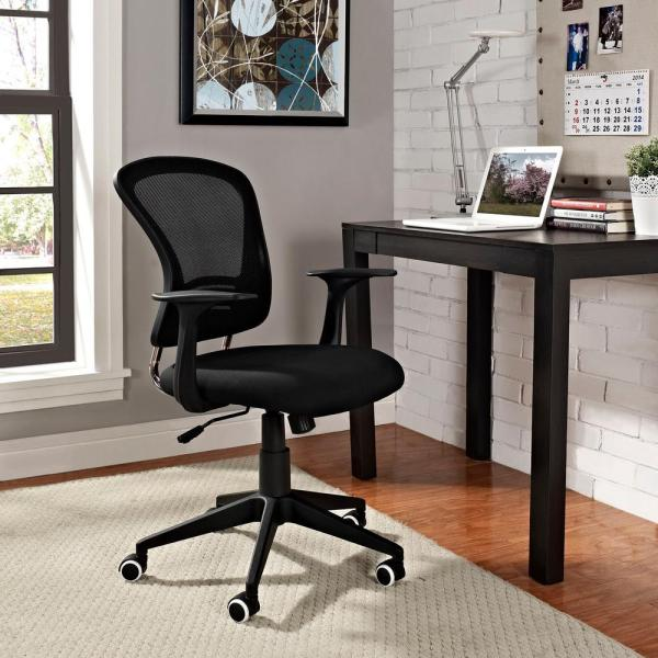 MODWAY Poise Office Chair in Black EEI-1248-BLK