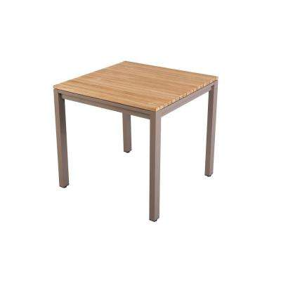 31 in. Barnsdale Teak Square Patio Dining Table