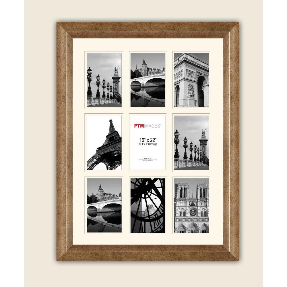 PTM Images 9-Opening 4 in. x 6 in. White Matted Champagne Photo ...
