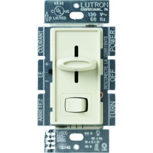 almond lutron dimmers scl 153p al 64_300 lutron skylark 150 watt single pole 3 way cfl led dimmer ivory lutron skylark scl 153p wiring diagram at mifinder.co