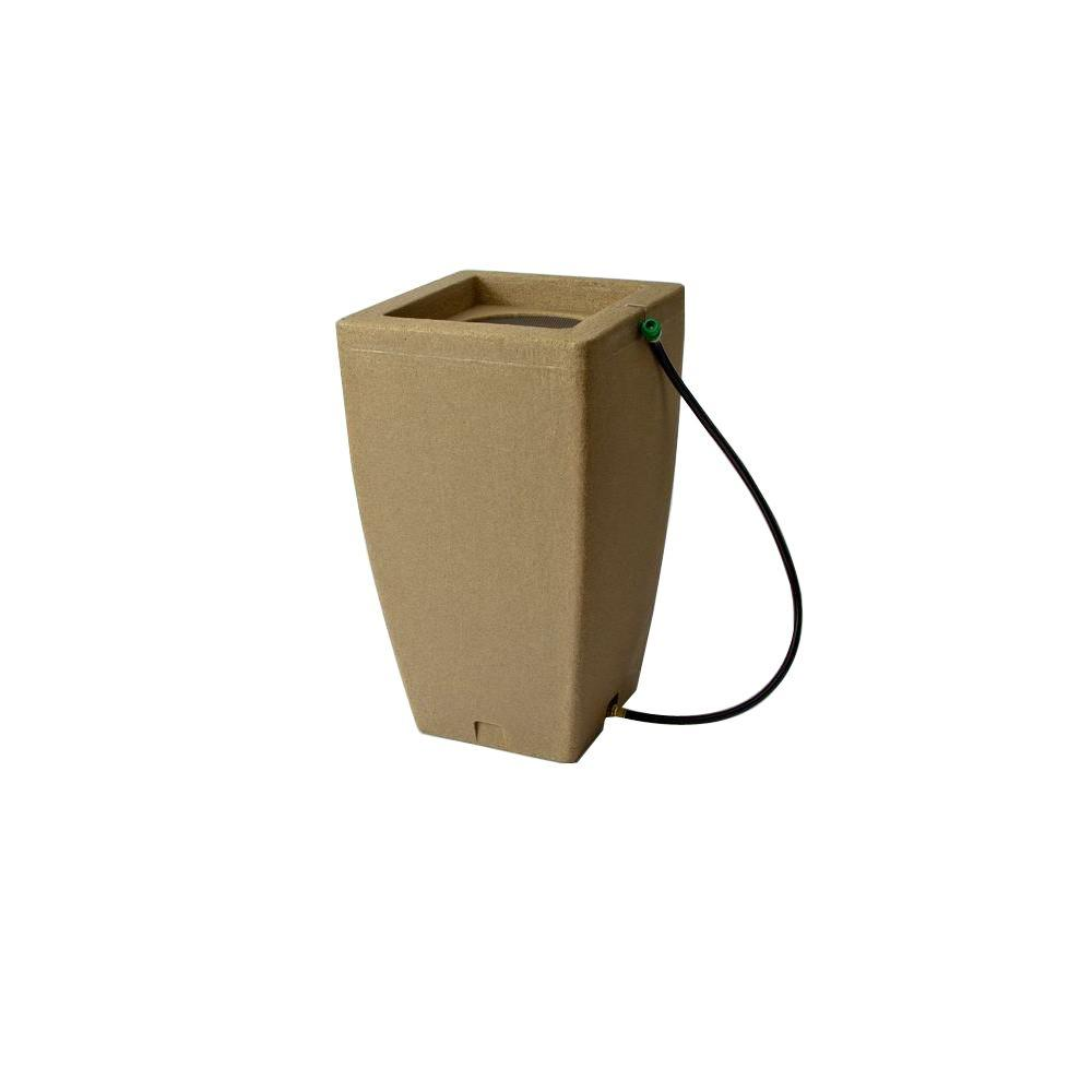 Madison 49 Gal. Rain Barrel in Sandstone