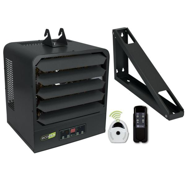 KB ECO2S+ 240-Volt 15 kW 1 PH Control with Fuse Block Electronic 2-Stage Unit Heater with Remote Sensor