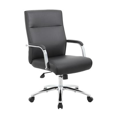 Black Modern Executive Conference Chair