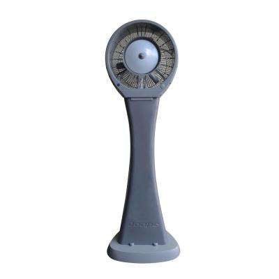 Hurricane 29 in. Reservoir Misting Fan in Gray, Cools 1,500 sq. ft.