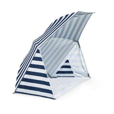 Brolly Navy Beach Umbrella Tent