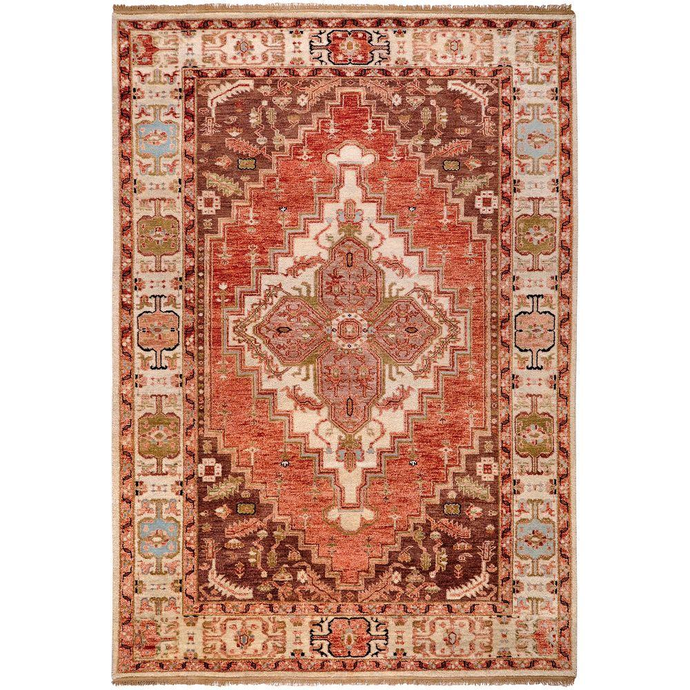 artistic weavers bargello rust 5 ft 6 in x 8 ft 6 in area rug bargello 5686 the home depot. Black Bedroom Furniture Sets. Home Design Ideas