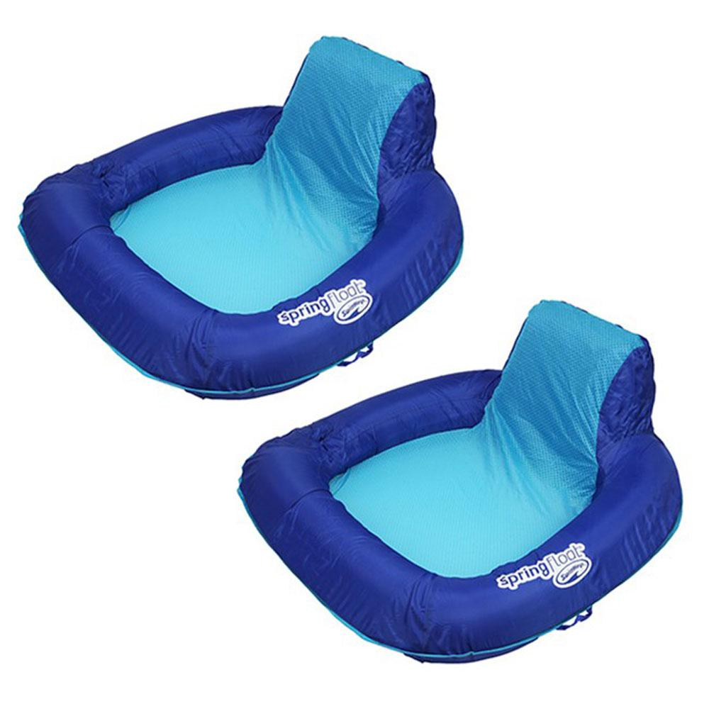Swim Ways Spring Float SunSeat Pool Float (2-Pack)-13017-02 - The ...