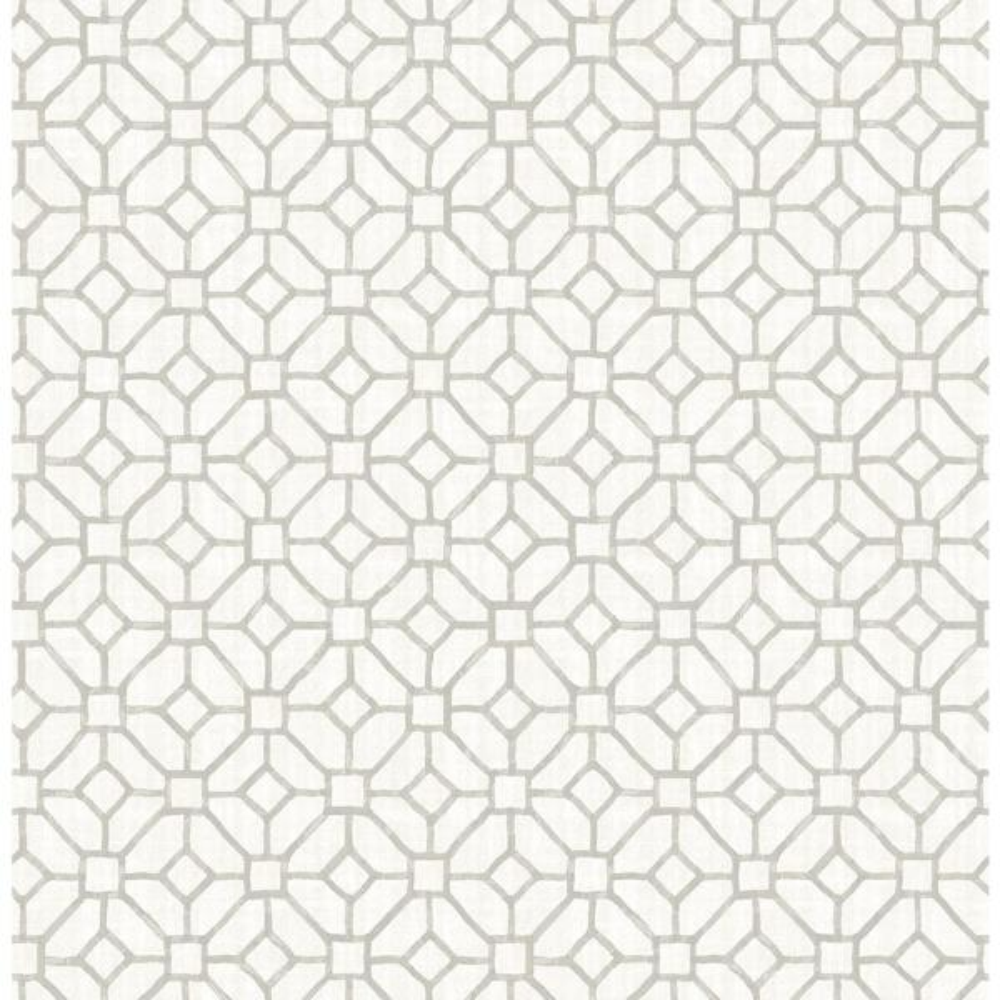 A-Street Gigi Light Grey Geometric Wallpaper Sample 2657-22239SAM