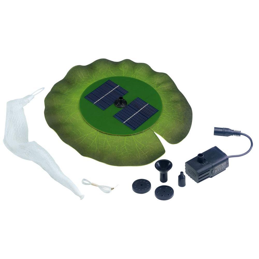 Smart Solar Floating Solar Lily Fountain