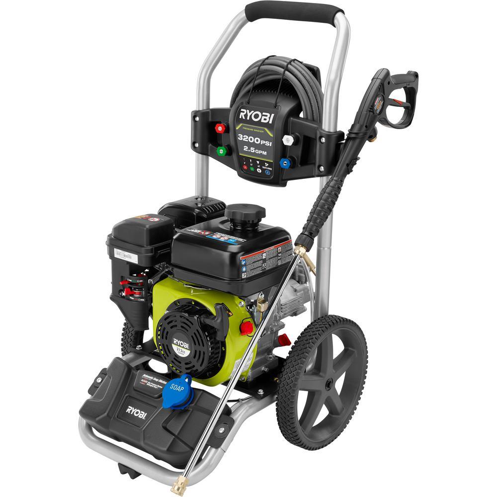 3,200 PSI 2.5 GPM 212 cc Gas Pressure Washer