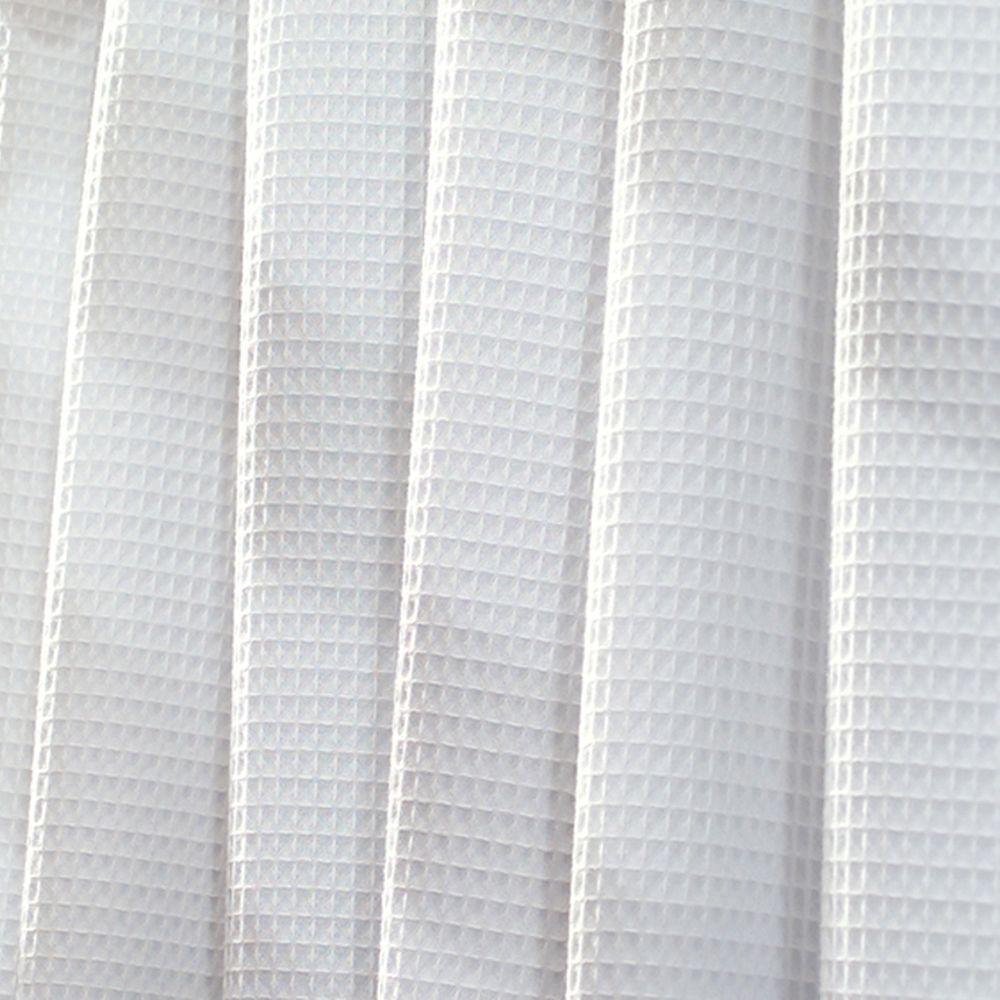 York Shower Curtain in White