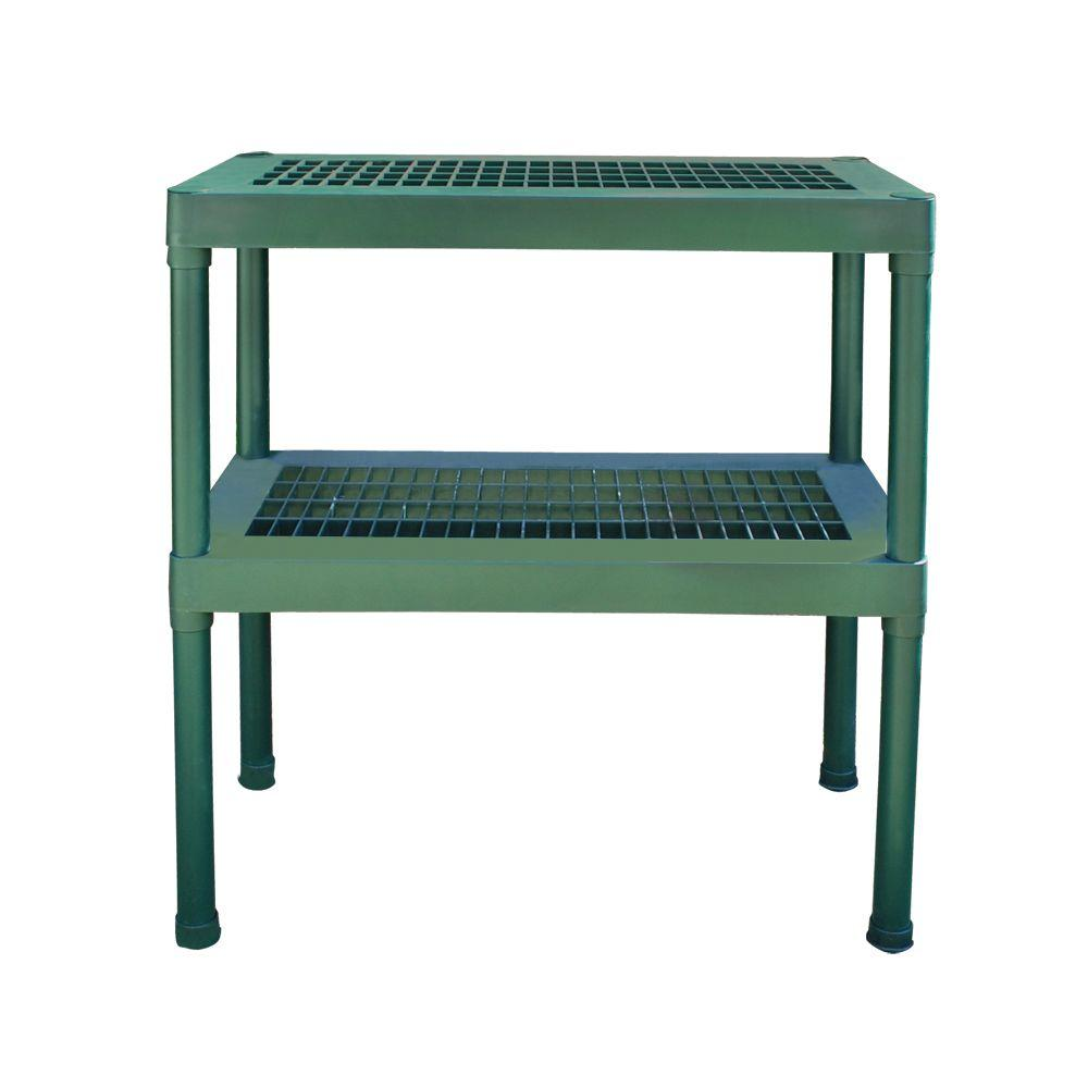 Rion 2-Tier Staging Bench-702427 - The Home Depot