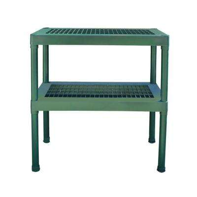2-Tier Staging Bench
