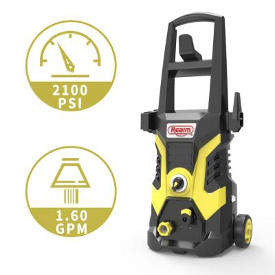 BY02-BCOH, Electric Pressure Washer, 2100 PSI, 1.6 GPM,13 Amp Yellow Black