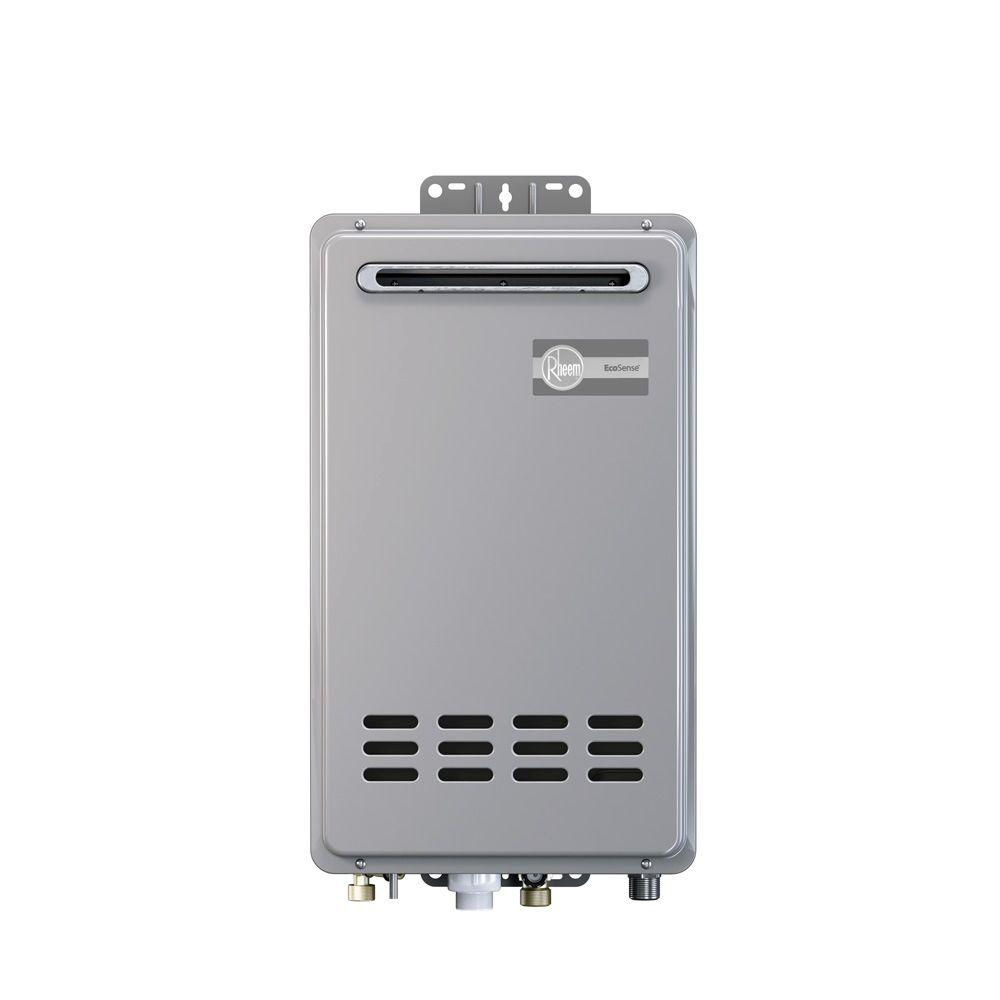 rheem indoor tankless water heater. rheem 6.4 gpm liquid propane gas mid efficiency outdoor tankless water heater-eco150xlp3-1 - the home depot indoor heater a