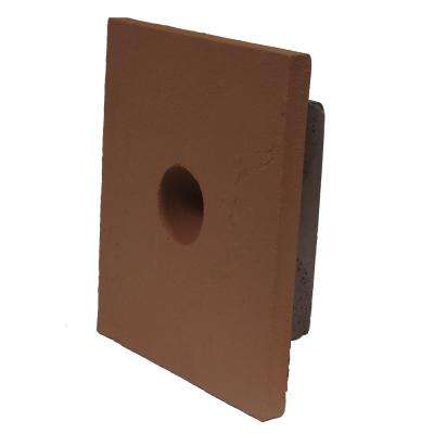 Sandstone 8 in. x 9 in. Red Small Universal Mounting Block