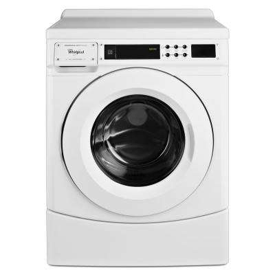 3.1 cu. ft. High-Efficicency White Front Load Commercial Washing Machine