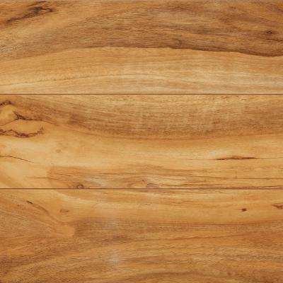 Take Home Sample - High Gloss Fiji Palm Laminate Flooring - 5 in. x 7 in.