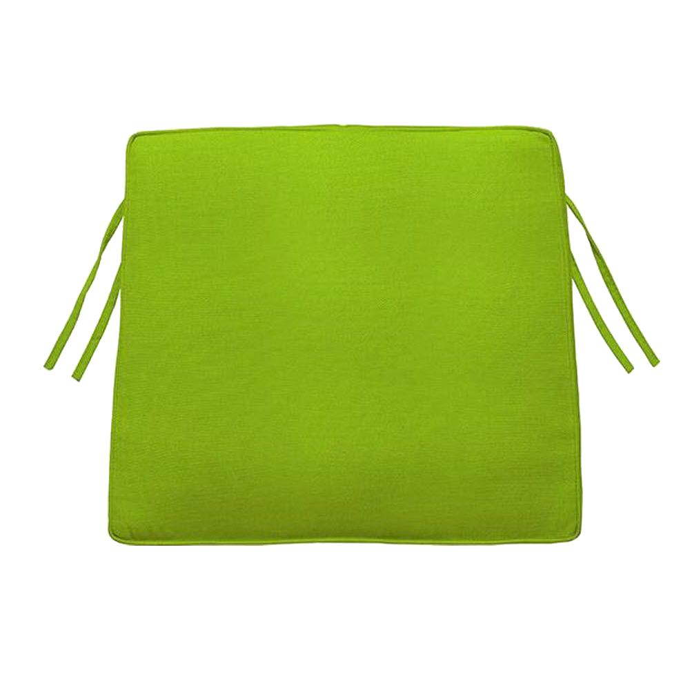 Home Decorators Collection Sunbrella Macaw Trapezoid Outdoor Seat Cushion