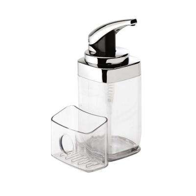 22 oz. Square Push Pump with Caddy