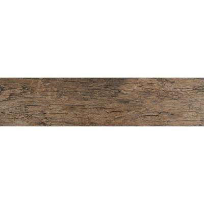 Redwood Natural 6 in. x 24 in. Glazed Porcelain Floor and Wall Tile (10 sq. ft. / case)