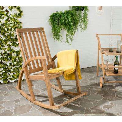 Clayton Teak Wood Outdoor Rocking Chair