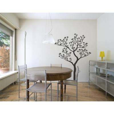 (56.3 in x 72.4 in) Romantic Tree Wall Decal