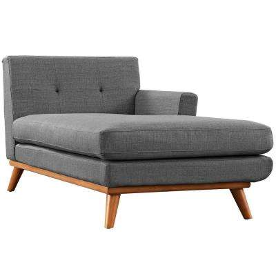 Engage Gray Right-Facing Chaise