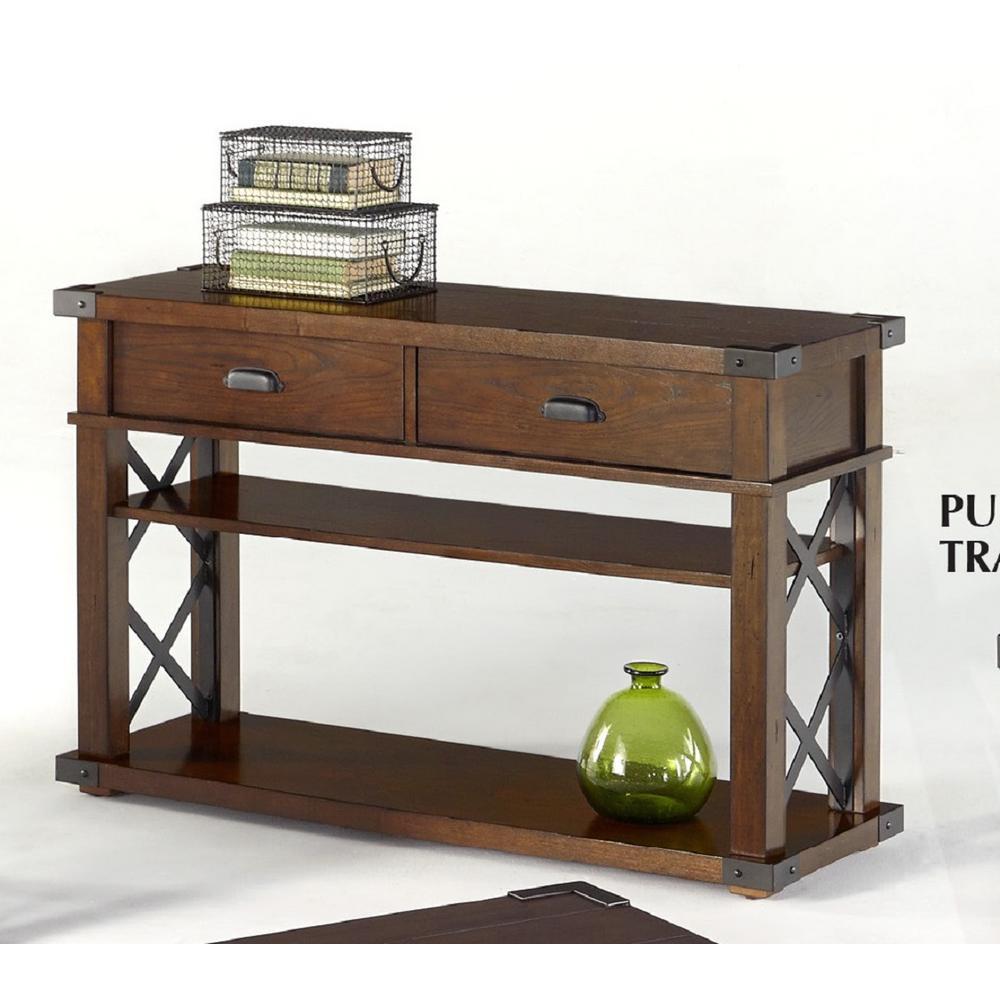 Landmark Vintage Ash Sofa/Console Table