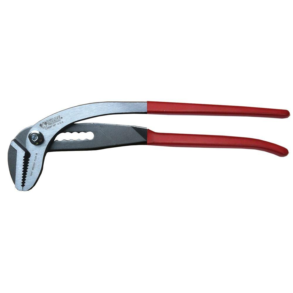 Slip Joint Pipe Wrench Pliers  sc 1 st  The Home Depot & Wilde Tool 12-3/4 in. Slip Joint Pipe Wrench Pliers-G289P - The Home ...