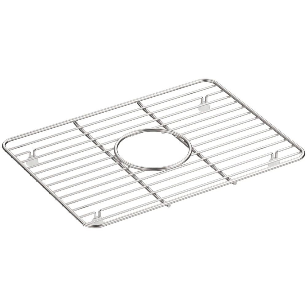 Remarkable Kohler Cairn 10 375 In X 14 25 In Stainless Steel Kitchen Sink Bowl Rack Download Free Architecture Designs Philgrimeyleaguecom