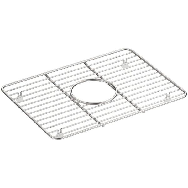 Cairn 10.375 in. x 14.25 in. Stainless Steel Kitchen Sink Bowl Rack