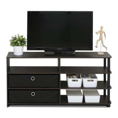 Jaya Walnut Simple Design TV Stand