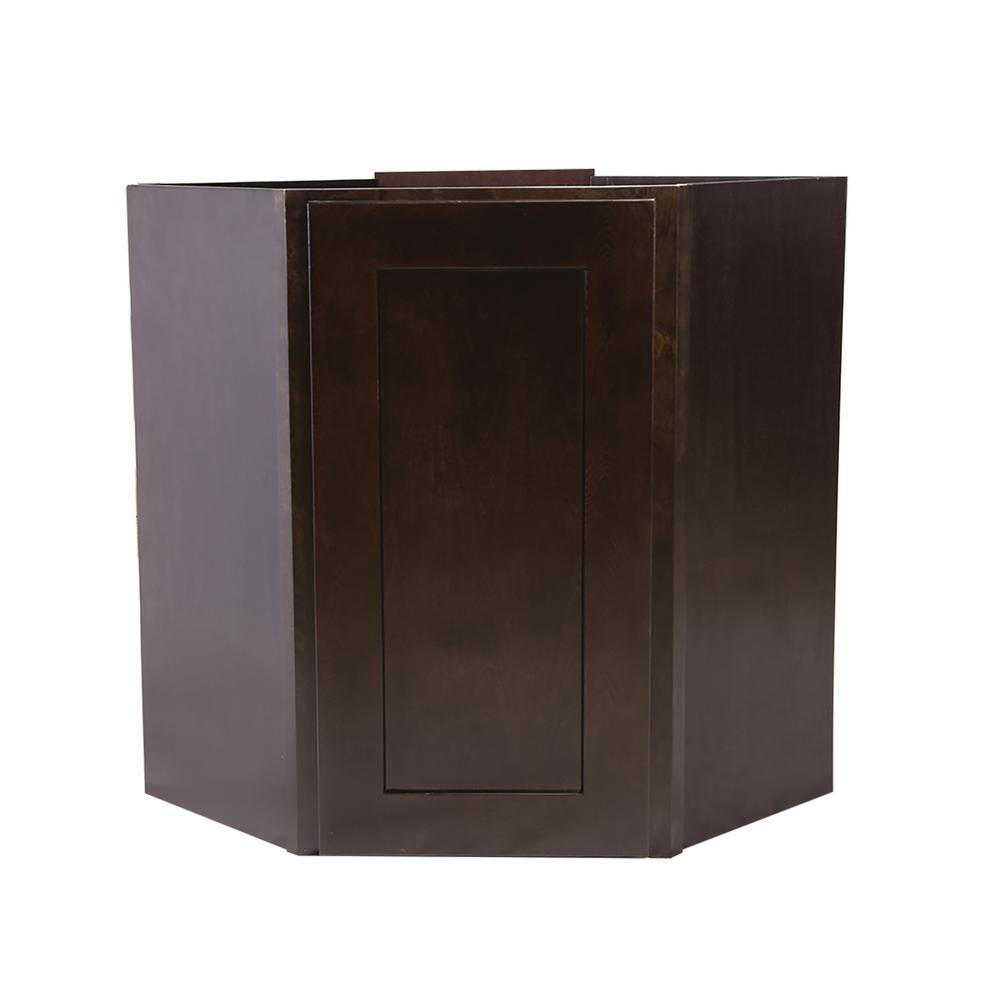 corner cabinet home depot design house brookings fully assembled 24x30x12 in 13912