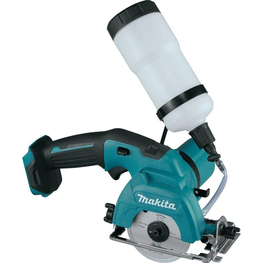 Makita 12-Volt MAX CXT Lithium-Ion Cordless 3-3/8 in. Tile/Glass Saw (Tool Only)