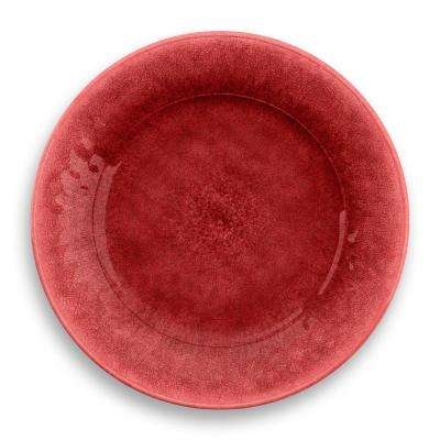 Potters Reactive Glaze Dinner Plate Red (Set of 6)