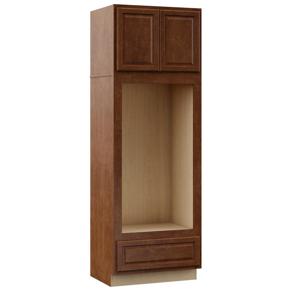 Hampton Bay Kitchen Cabinets At Home Depot: Hampton Bay Hampton Assembled 33 X 96 X 24 In. Pantry