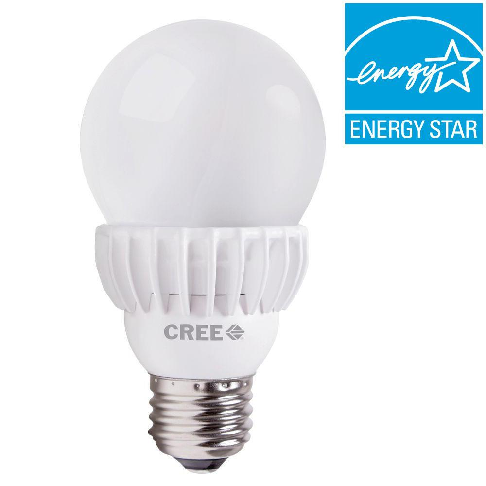 Cree 75W Equivalent Daylight A19 Dimmable LED Light Bulb