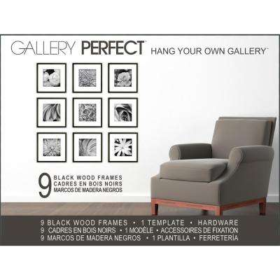 9-Opening Matted Picture Frame