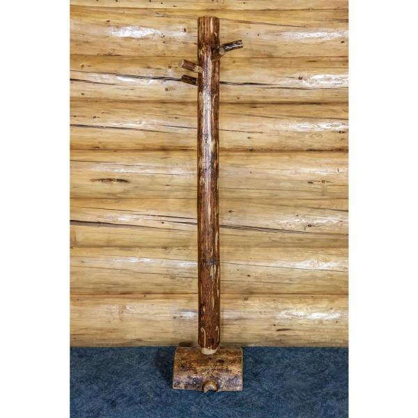 Montana Woodworks Glacier Country Collection Puritan Pine Hall Tree