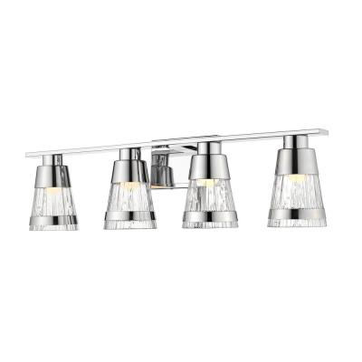 Galati Chrome 8-Watt Integrated LED Bath Light