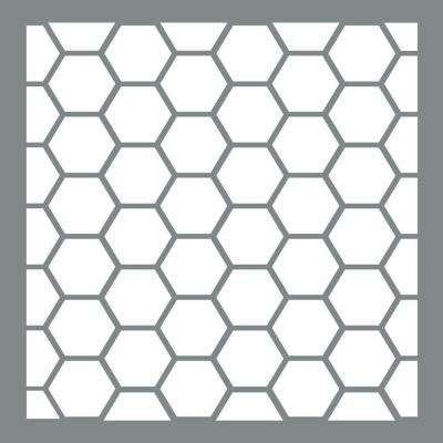 Americana Decor 6 in. x 6 in. Honeywire Stencil