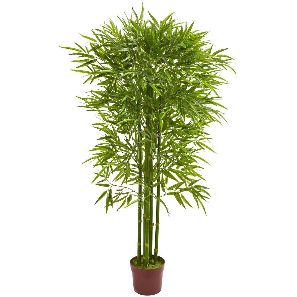 Indoor/Outdoor 5.5 ft. Bamboo Artificial Tree UV Resistant
