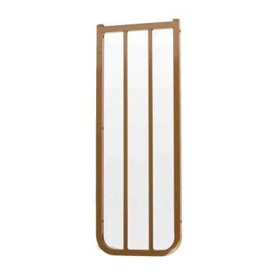 30 in. H x 10.5 in. W x 2 in. D Extension for Stairway Special or Auto Lock Gate Brown