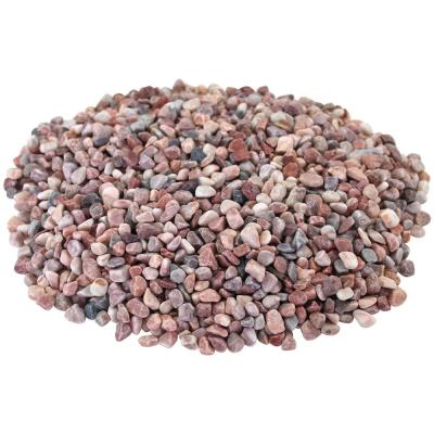 Margo Garden Products 12 cu. ft., 0.4 cu. ft. 3/8 in. Pink Gravel (30-Bags/Covers)