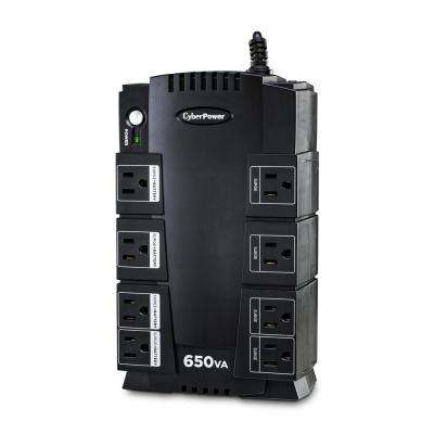 650VA 8-Outlet UPS Battery Backup