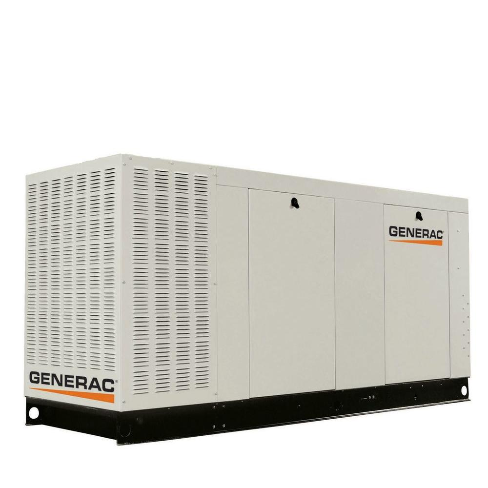 130,000-Watt Liquid-Cooled Standby Generator