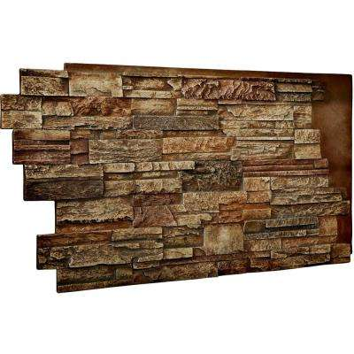 1-1/2 in. x 48 in. x 25 in. Limestone Urethane Dry Stack Stone Wall Panel